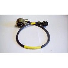 RACAL POWER CABLE 2PF CLANSMAN TO 4PM LARGE SOCKET .5MTR LG